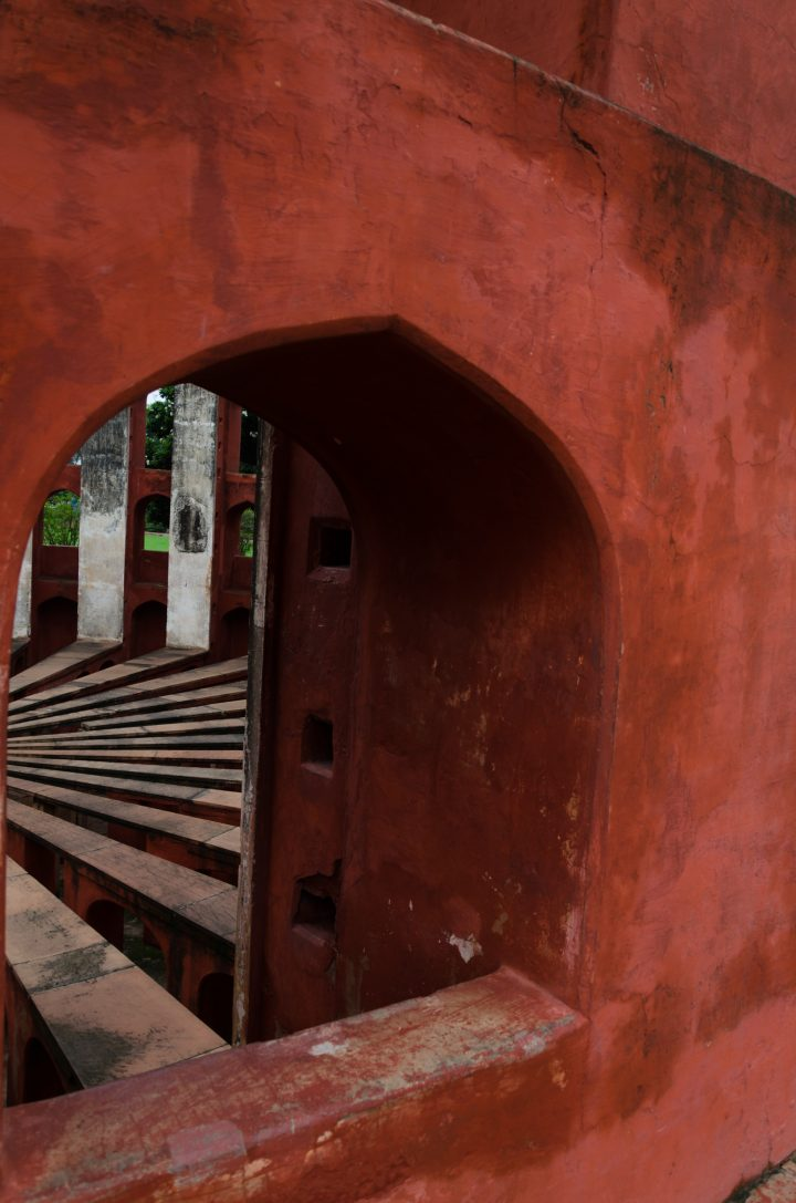 Jantar Mantar in Abstract by Shivendra Lal